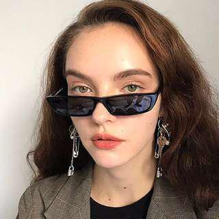 skinny rectangle sunglasses