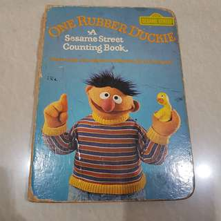 One Rubber Duckie - A Sesame Street Counting Book