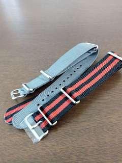 Price reduction - 20mm NATO watch straps