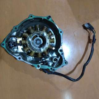Honda XR400 Stator Complete With Magneto Cover