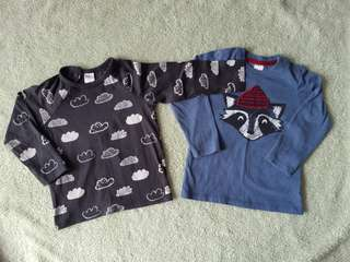 H&M Long Sleeve Tshirt (2pcs)