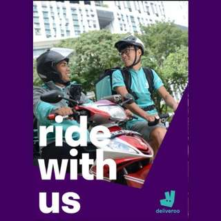 Join Our Deliveroo family NOW!!!
