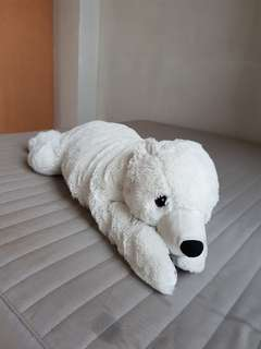 Polar bear stuff toy