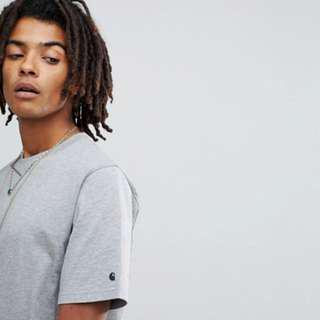 Authentic Brand New - Carhartt WIP Base Tee in Gray