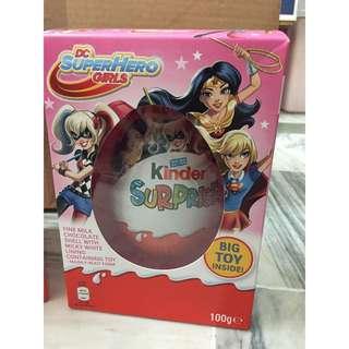 🚚 [現貨女版一個] 英國代購 Kinder 健達出奇蛋 英國版復活節大彩蛋 超級英雄系列100g