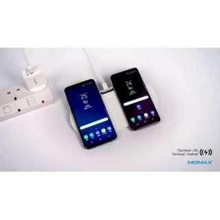 Momax Q.Pad Dual 雙充無線充電器 Black