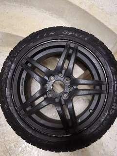 RIM Tayar Tyre Tire 195/50/15