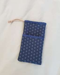 Pencil pouch pocket inserts