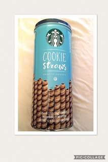 Starbucks Cookie Straw 25x20g individually wrapped