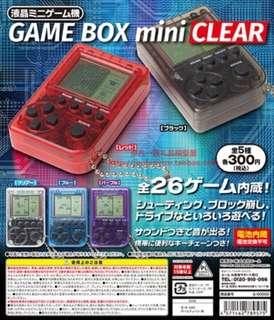 日本yujin game boy mini 迷你遊戲機26合1扭蛋鎖匙扣