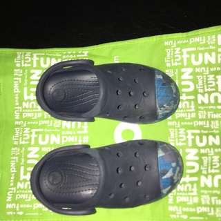 Crocs bump it Camo navy clog