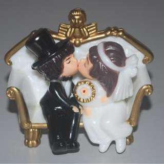 結婚裝飾公仔