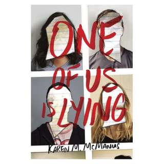 E-book English Novel - One of Us Is Lying - Karen M. McManus