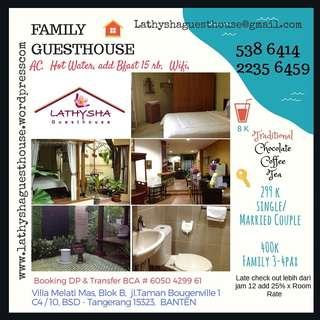 Voucher Guesthouse