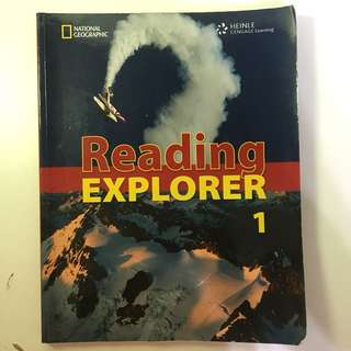 🚚 Geographic Reading Explorer1 初級英文課本