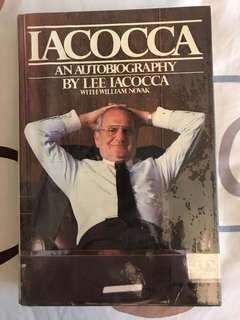 Iacocca - An Autobiography by Lee Iococca with William Novak