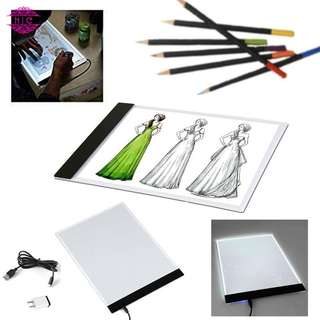 【Ready Stock】A4 LED Light Stencil Painting Drawing Pad Board Dimmable