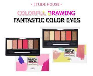 🚚 Etude House Colourful Drawing Fantastic Colour Eyes
