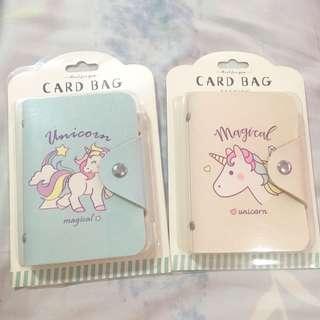 Unicorn card holder