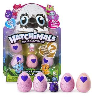 Hatchimals CollEGGtibles Season 2 (4 packs) Styles may vary