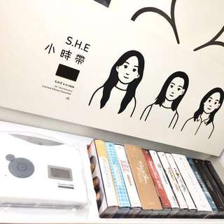S.H.E 小时代 (16th Anniversary Limited Edition Cassettes)