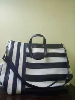 Authentic coach travel bag