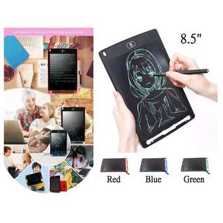 HK$85/1件 ~ 全新環保8.5吋LCD電子畫板記事板, 大人細路都啱用 8.5 inch LCD Writing Tablet Digital Drawing Tablet Handwriting Pads Portable Electronic Tablet Board