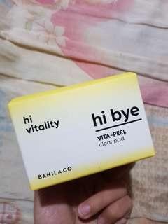 Banila Co Hi Bye - Vita Peel Clear Pads