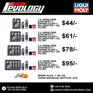 Liqui Moly Servicing Package