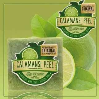 Organic Calamansi Peel Soap with Extra Virgin Olive Oil