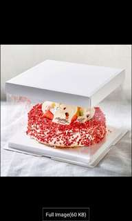 Transparent Cake Box
