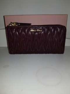 Miu Miu Long Wallet (Authentic)
