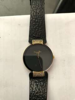 christian dior black moon with genuine diamonds