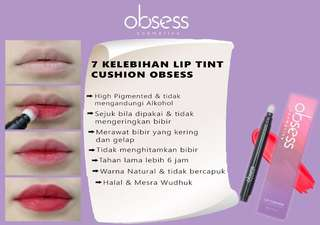 Obsess Cosmetics Lip Tint Cushion