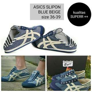 Sepatu Onitsuka Super Blue