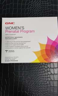 GNC Women's Prenatal Program