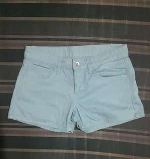 Uniqlo Light Blue Micro Shorts