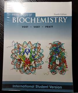 Principles of Biochemistry, 4th edition