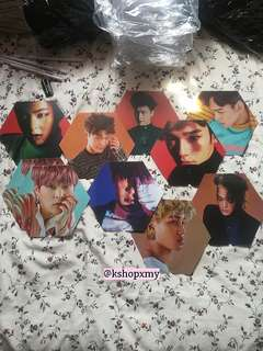[RS] EXO ' Monster ' Individual Member Hand Fan