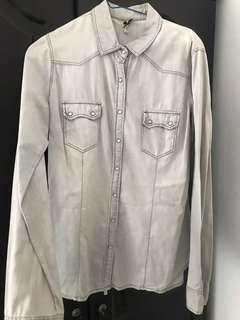 Stradivarius grey shirt