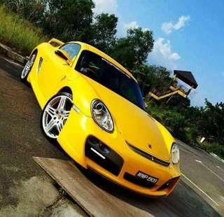 Porsche Cayman S 3.4 (A)