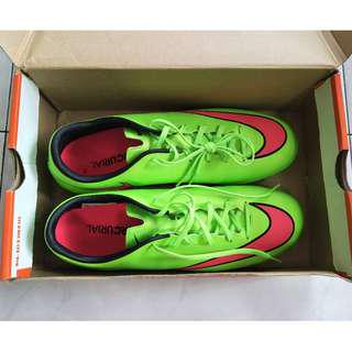 Nike Mercurial Lime Green Pink Soccer Football Futsal Shoes