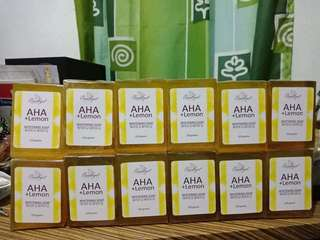 AHA Lemon Soap