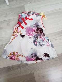 BNWT baby girl Chinese New year modern cheongsam