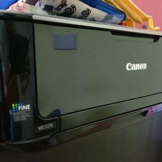 Canon multi purpose ink jet. MG5370