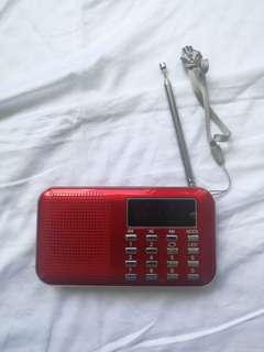 收音機+USB機