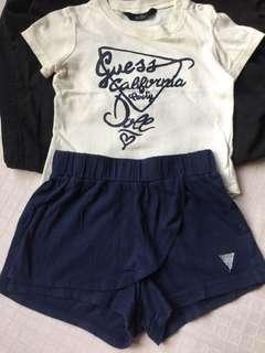 baby shirt & skort set