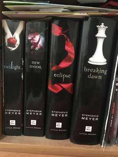 Entire twilight saga
