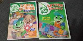 🐸 Leap Frog DVDs