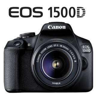 🛒Canon EOS 1500D DSLR Camera With 18-55mm Lens